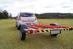 Carreta Carretinha Reboque 3 Motos - Bravo Carretas