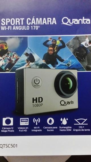 Camera Esportiva Quanta Hd Dv 1080 Full Hd Wifi