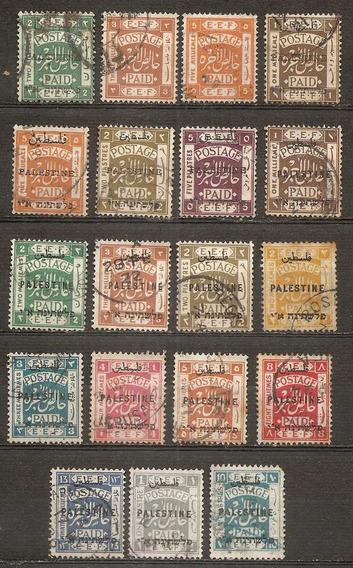 Palestina Hermoso Lote Desde Nº5 A Nº61 Colección Personal