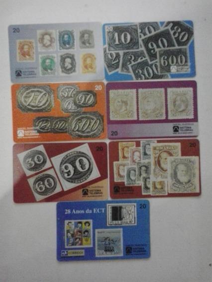 Cartões Telefônicos - Serie Selos Brasileiros - Frete Grátis