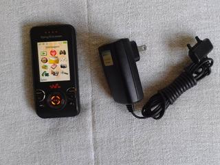Celular Sony Erycsson W580 Da Claro Com Carregador Original
