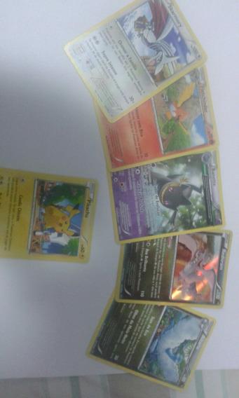 Card Games Pakemon 6 Unidades