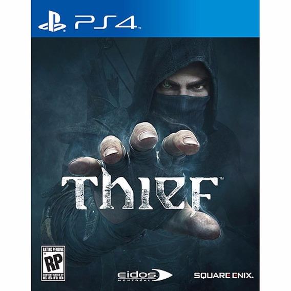 Jogo Ps4 Thief Ps4 - Midia Física - Promoção