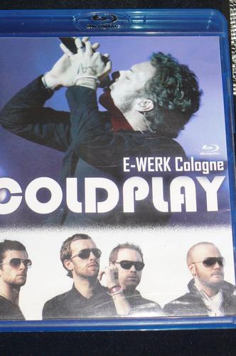 Vendo Blue Ray Coldplay E-werk Cologne Original Como Nuevo