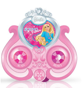 Radinho Fm Da Barbie Com Baterias + Fone De Ouvido