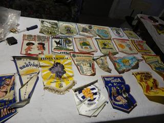 Coleccion De 22 Banderines Diversos