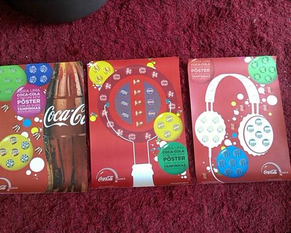 Álbum Coca Cola Chapinha Completo - Posters Coca-cola Música