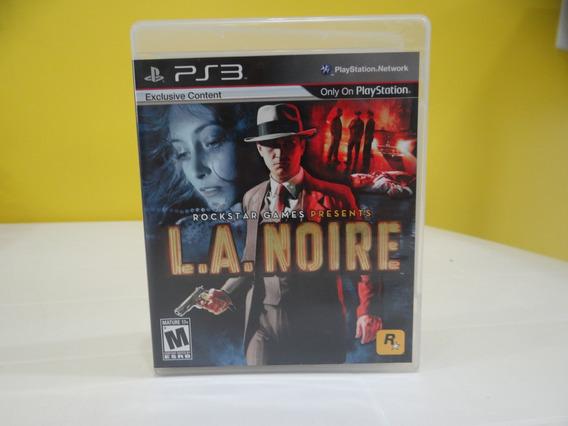 L.a. Noire - Ps3 - Completo!