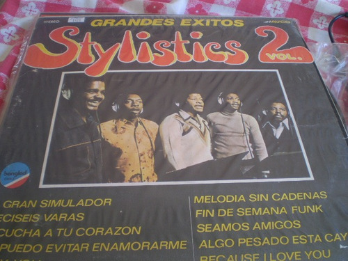 Vinilo  Lp Stylistics  Vol 2  Grandes Exitos (u825