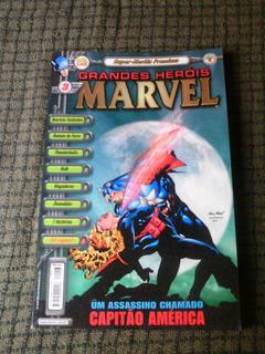 Grandes Herois Marvel N.03 -premium-editora Abril !
