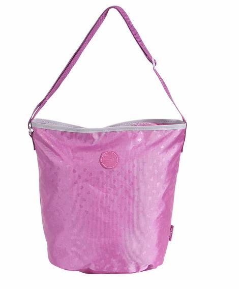 Capricho Purple Bolsa Tote G - Dmw Original