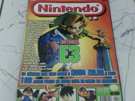 Raridade Revista Nintendo World Nº 22 Ano 1998