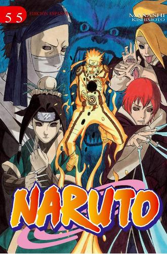Manga Naruto Tomo 55 - Edt