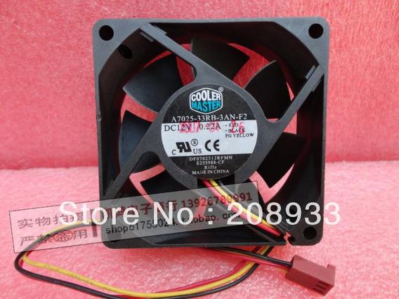 70x25mm Coolermaster A7025 Fan Cooler Projetor Rack Servidor