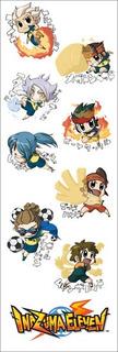 Plancha De Stickers De Anime De Inazuma Eleven