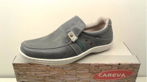 Mocasín Hombre Cuero Careva Art 3015 Zona Zapatos