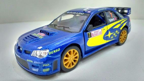 Subaru Impreza Wrc 2007 Kinsmart 1:36