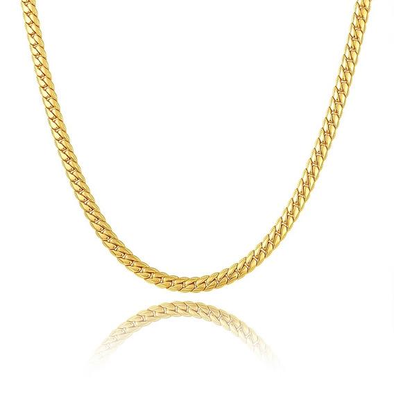 2017 Brzha Marca New Gold-colar Banhado A Ouro 18k