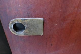 Frente Puerta Placard Corrediza Placa Y Encastre Para Riel