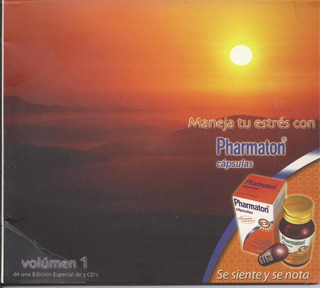 Maneja Tu Estrés Con Pharmaton Vol 1 Cd Nacional