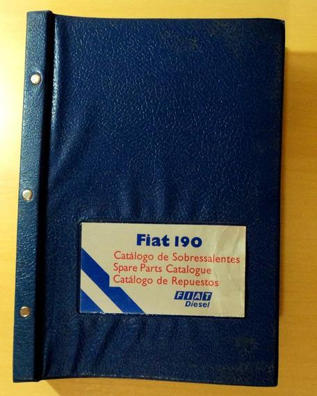 Catálogo De Peças Fiat 190