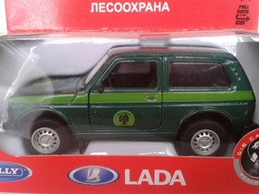 Miniatura Niva Lada Welly 1:36 Único No Mercado Livre !!!