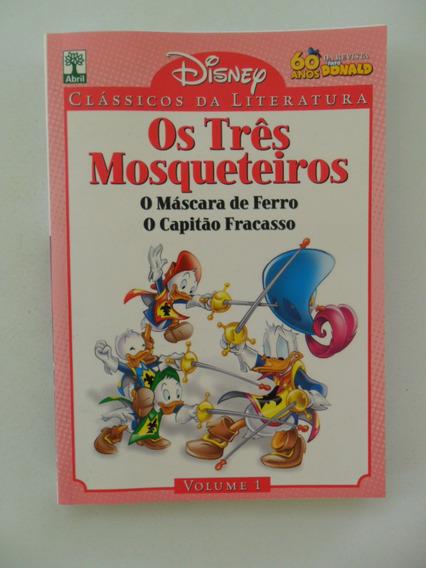 Clássicos Da Literatura Disney Nº 1! Os Três Mosqueteiros!