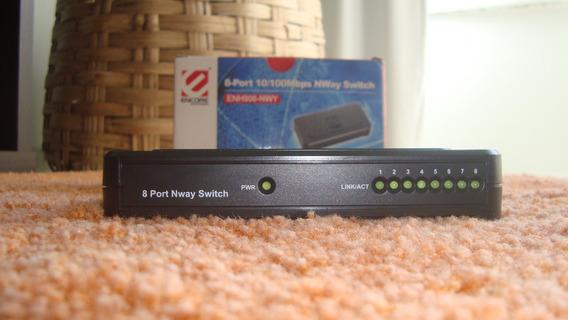 Hub Encore 8-portas 10/100mbps Nway Switch
