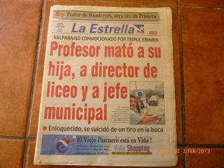 Antiguo Diario La Estrella 17 Dic 1999