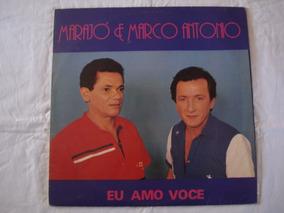 Marajo E Marco Antonio-lp-vinil-eu Amo Voce