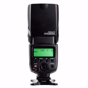 Flash Speedlite Viltrox Jy680a Câmera Dslr Canon Nikon Etc