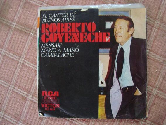Disco Simple El Cantor De Bs As Roberto Goyeneche C3