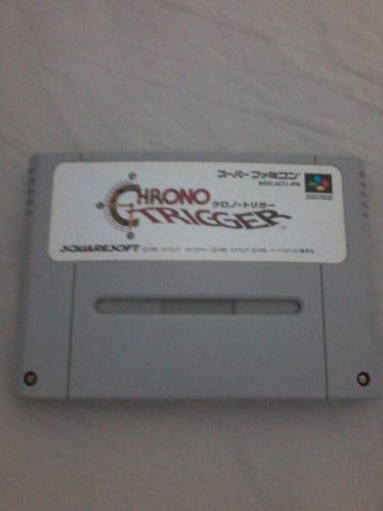 Chrono Trigger Original Japonês Funcionando Salvando