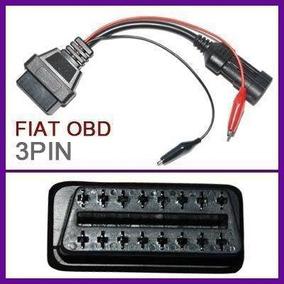 Cabo Adaptador Para Obd2 Fiat 03 Pinos - Frete Gratis