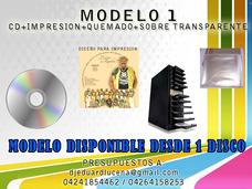 Discos Impresos Estuches Caratulas Afiches Material P.o.p
