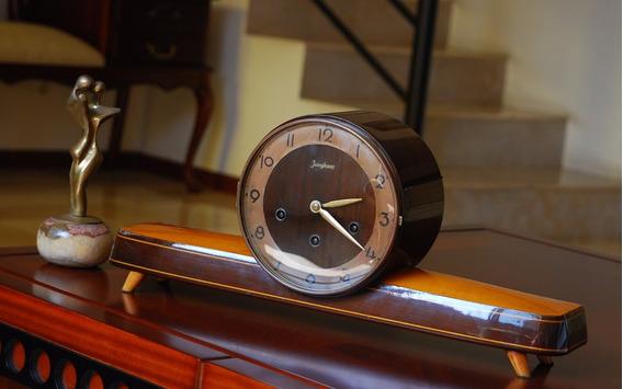 Reloj Antiguo De Mesa Aleman