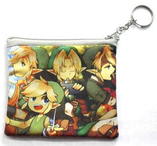 Monedero De Anime De Legend Of Zelda Link