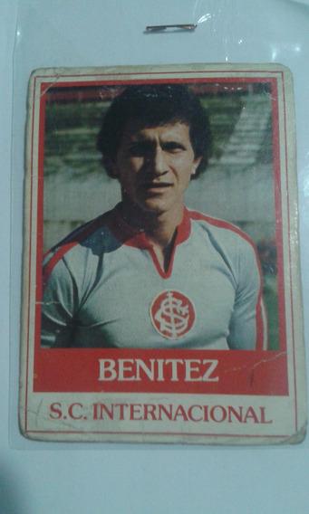 Futebol Cards Ping Pong 221 S.c. Internacional Benitez