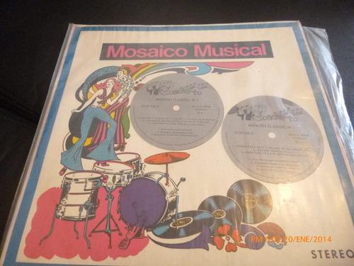 Vinilo Lp  Mosaico Musical Volumen 1 Concierto (u780