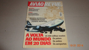 Revista Avião Revue Nº58 Julho 2004