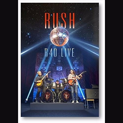 Rush - R40 Live [dvd + 3 Cd] Box Set Digipak