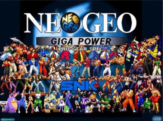 Emulador Arcade Do Neo Geo E Cps1/2 Para Pc + Todas As Roms