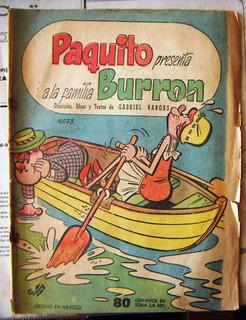 Historieta, Paquito Presenta La Familia Burron, N°16073, Rm4