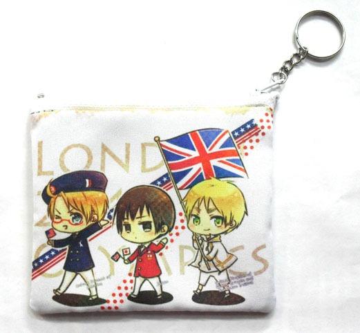 Monedero De Anime De Hetalia Usa Inglaterra Japon