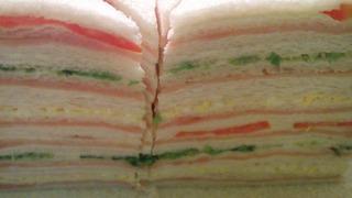 48 Sanwiches De Miga Triples Surtidos Grandes 12x17cm Promo