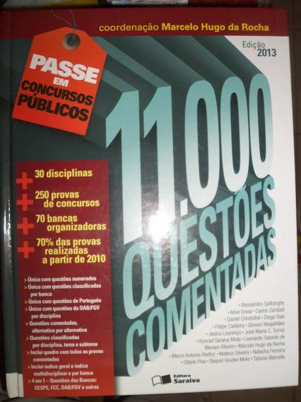 11000 Questões Comentadas Ed. 2013 Livro Impresso E Novo !