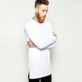 Camisa Longline Swag Oversized Slim Fit Stecchi