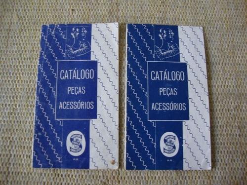 Catálogo/folder Peças E Acessórios Máquinas Singer Anos 50 .