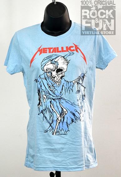 Metallica Playera Dama Importada 100% Original