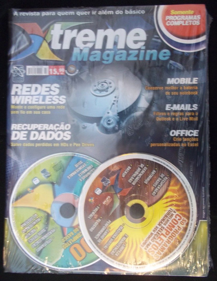 Xtreme Magazine + 2 Cd Com Programas Completos Para Pc